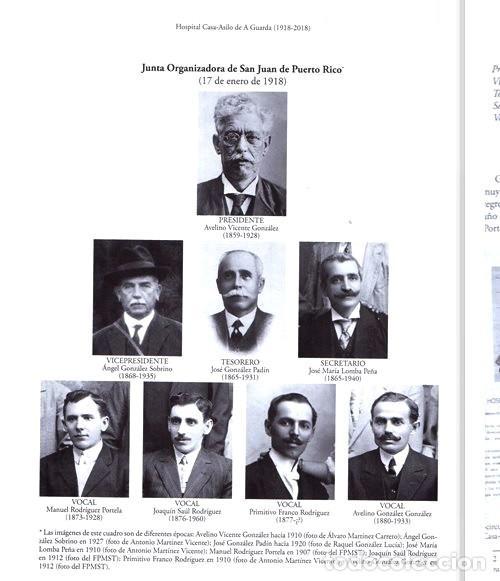 Libros de segunda mano: X4016 - HOSPITAL CASA ASILO DE A GUARDA (1918-2018). HISTORIA. PONTEVEDRA. GALICIA. NUEVO. - Foto 14 - 221496447