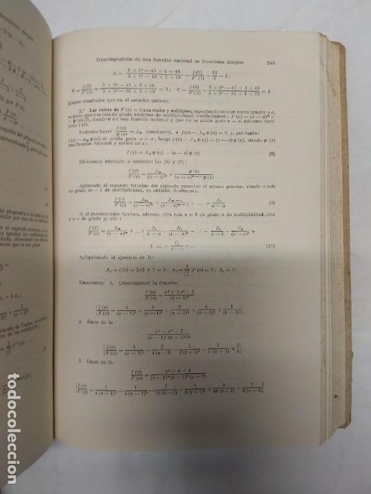 Libros de segunda mano: Ampliación de matemáticas. I. Rubio Sanjuán. - Foto 4 - 221558077
