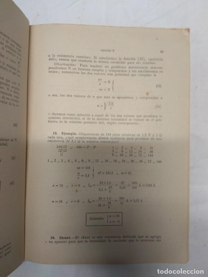 Libros de segunda mano: Curso de electricidad industrial. Tomo 1. Enrique Alfaro Segovia. - Foto 3 - 221559247