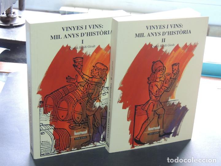 VINYES I VINS: MIL ANYS D'HISTÒRIA.(OBRA COMPLETA) EMILI GIRALT I RAVENTÓS (COORD.) (Libros de Segunda Mano - Historia - Otros)