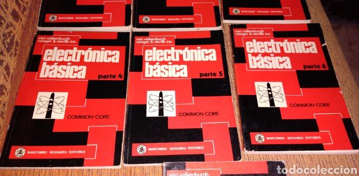 Libros de segunda mano: Electrónica básica 7 volúmenes editorial marcombo van valkenburgh años 70 - Foto 3 - 221597818