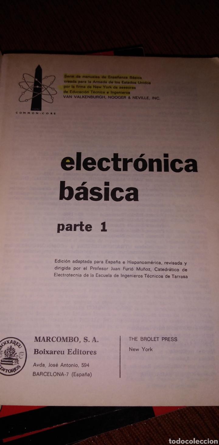 Libros de segunda mano: Electrónica básica 7 volúmenes editorial marcombo van valkenburgh años 70 - Foto 5 - 221597818