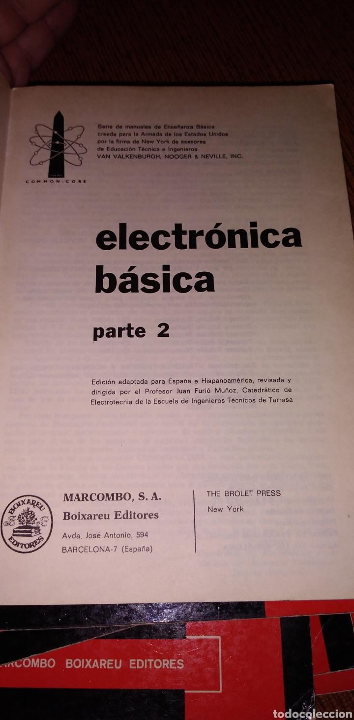 Libros de segunda mano: Electrónica básica 7 volúmenes editorial marcombo van valkenburgh años 70 - Foto 8 - 221597818