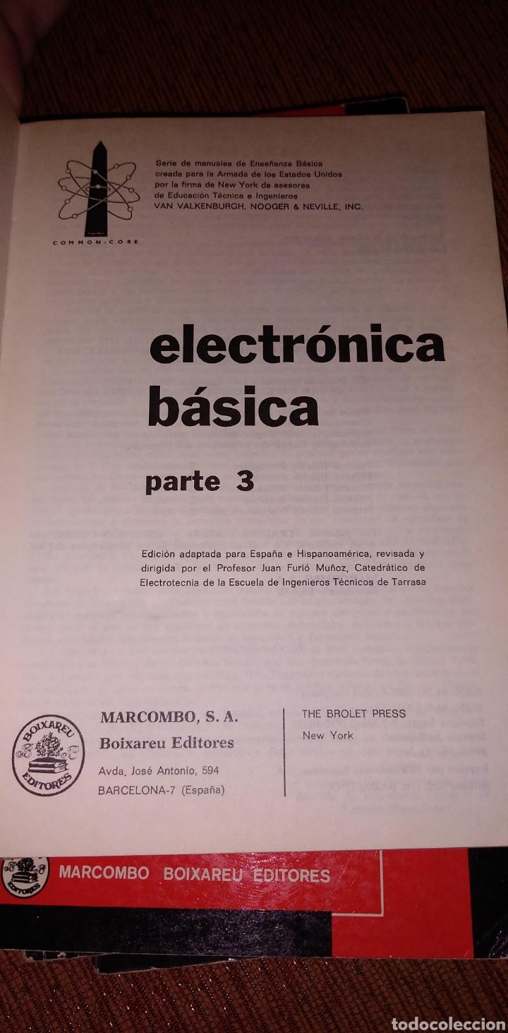 Libros de segunda mano: Electrónica básica 7 volúmenes editorial marcombo van valkenburgh años 70 - Foto 9 - 221597818