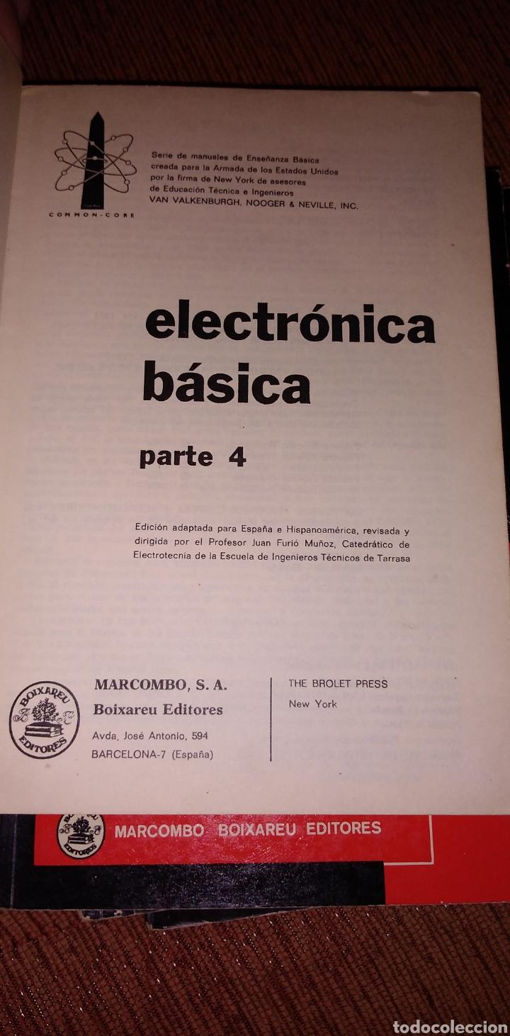 Libros de segunda mano: Electrónica básica 7 volúmenes editorial marcombo van valkenburgh años 70 - Foto 10 - 221597818