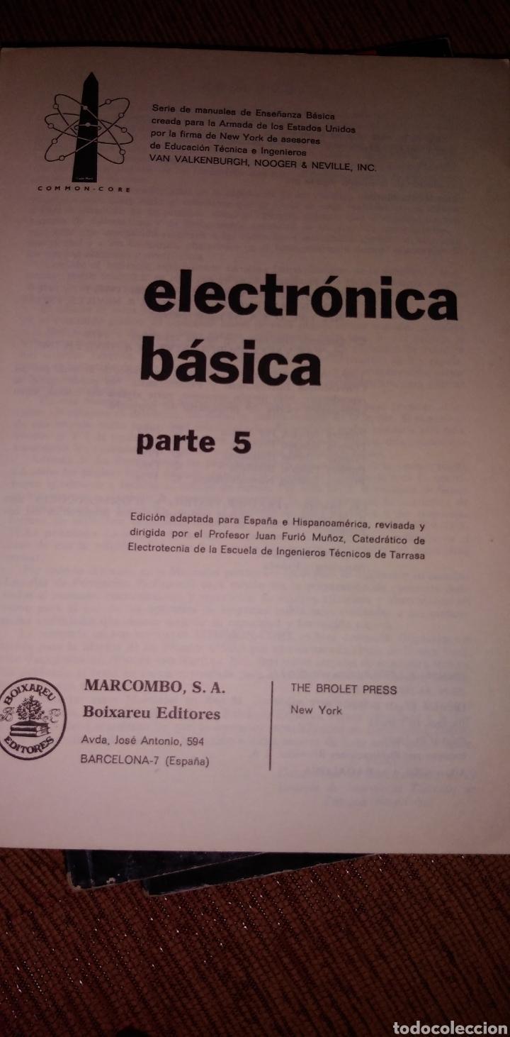 Libros de segunda mano: Electrónica básica 7 volúmenes editorial marcombo van valkenburgh años 70 - Foto 11 - 221597818