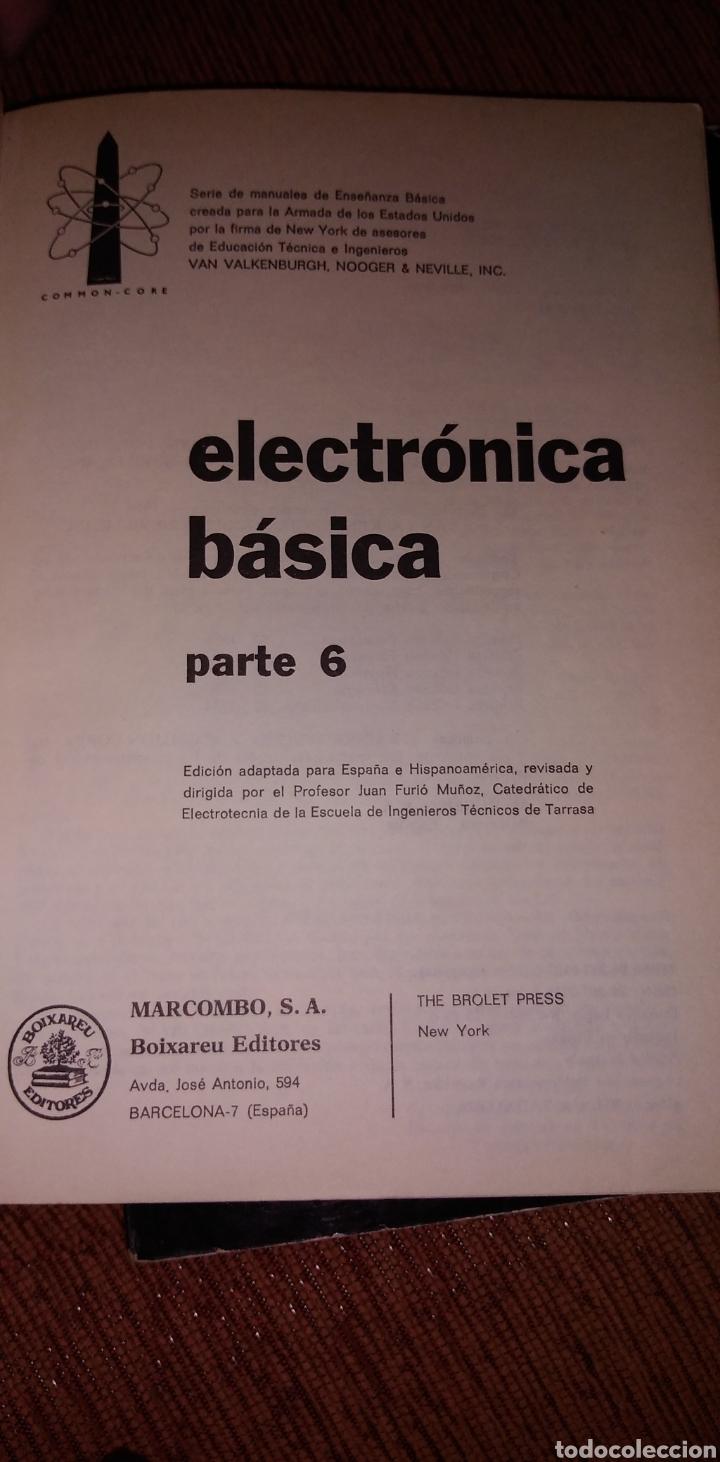 Libros de segunda mano: Electrónica básica 7 volúmenes editorial marcombo van valkenburgh años 70 - Foto 12 - 221597818