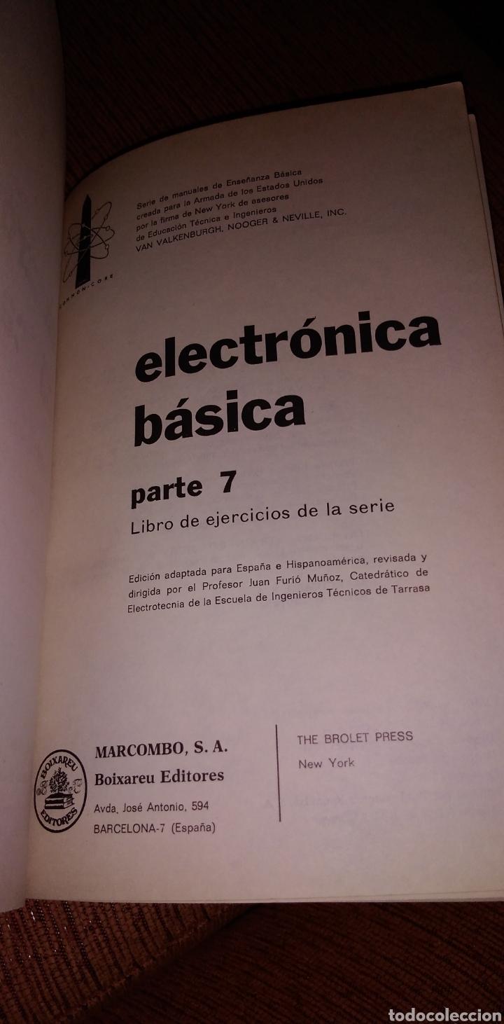 Libros de segunda mano: Electrónica básica 7 volúmenes editorial marcombo van valkenburgh años 70 - Foto 13 - 221597818