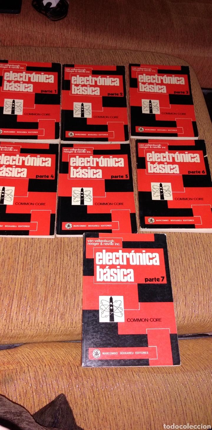 ELECTRÓNICA BÁSICA 7 VOLÚMENES EDITORIAL MARCOMBO VAN VALKENBURGH AÑOS 70 (Libros de Segunda Mano - Ciencias, Manuales y Oficios - Otros)