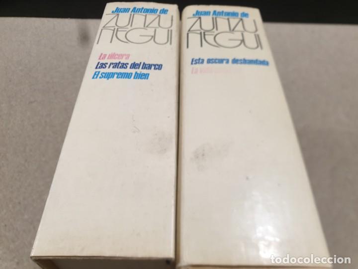 Libros de segunda mano: LITERATURA.....JUAN ANTONIO DE ZUNZUNEGUI.....OBRAS COMPLETAS...2 TOMOS....1972.... - Foto 2 - 221599470