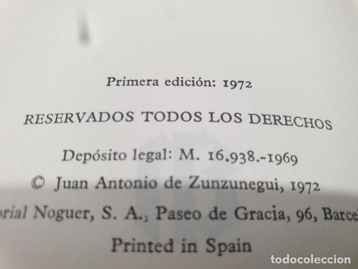 Libros de segunda mano: LITERATURA.....JUAN ANTONIO DE ZUNZUNEGUI.....OBRAS COMPLETAS...2 TOMOS....1972.... - Foto 7 - 221599470