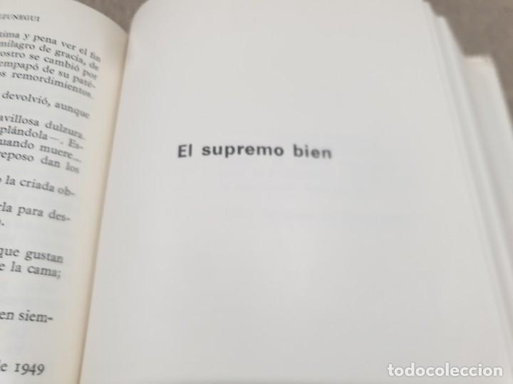Libros de segunda mano: LITERATURA.....JUAN ANTONIO DE ZUNZUNEGUI.....OBRAS COMPLETAS...2 TOMOS....1972.... - Foto 10 - 221599470