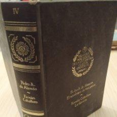 Libros de segunda mano: PEDRO ANTONIO DE ALARCÓN, GRANDES MAESTROS DE LA LITERATURA CLÁSICA UNIVERSAL, 1977. Lote 221605586