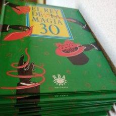 Libros de segunda mano: EL REY DE LA MAGIA RBA EDITORES COLECCIÓN COMPLETA. Lote 221620658