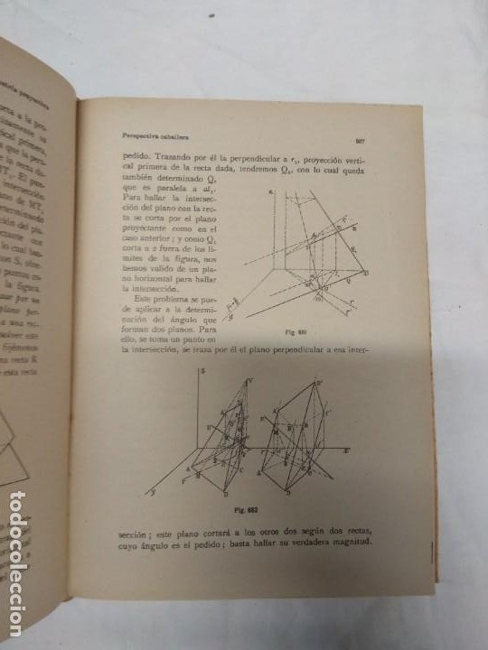Libros de segunda mano: Nociones de geometría proyectiva. Félix Alonso-Misol. - Foto 3 - 221627723