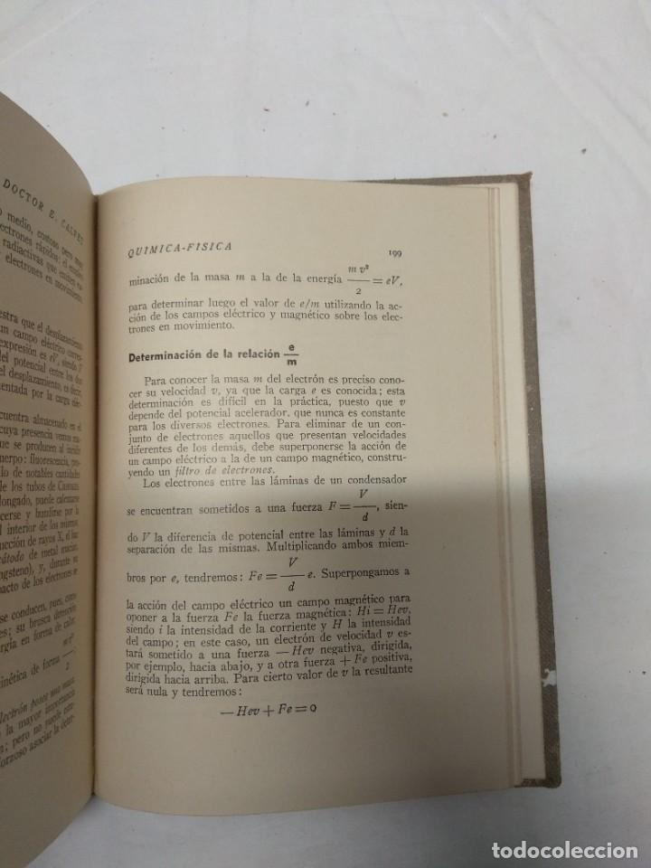 Libros de segunda mano: Iniciación a la química-física. Dr. E. Calvet. - Foto 4 - 221627800