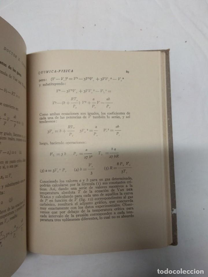 Libros de segunda mano: Iniciación a la química-física. Dr. E. Calvet. - Foto 5 - 221627800