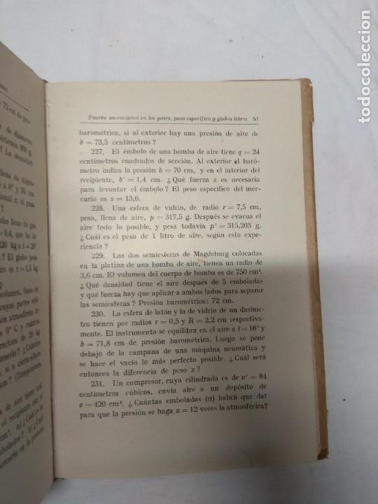 Libros de segunda mano: Problemas de física. G. Mahler/K. Mahler. - Foto 5 - 221627866
