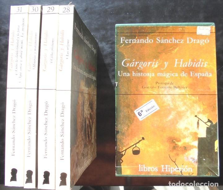 GÁRGORIS Y HABIDIS. UNA HISTORIA MÀGICA DE ESPAÑA FERNANDO SÁNCHEZ DRAGÓ 1979 6A ED. HIPERIÓN (Libros de Segunda Mano - Historia - Otros)
