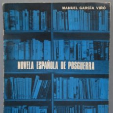 Libros de segunda mano: NOVELA ESPAÑOLA DE POSGUERRA. GARCÍA VIÑO. Lote 221670711