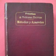 Libros de segunda mano: METODOS DE MEDICIÓN AÑO 1910. Lote 221673577