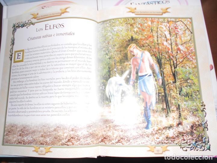 Libros de segunda mano: SERES FANTASTICOS ENTRE DOS MUNDOS / DEL AGUA / DEL AIRE / DE LA TIERRA - 4 LIBROS - Foto 2 - 221680223