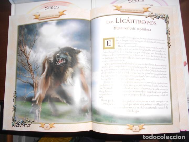 Libros de segunda mano: SERES FANTASTICOS ENTRE DOS MUNDOS / DEL AGUA / DEL AIRE / DE LA TIERRA - 4 LIBROS - Foto 3 - 221680223