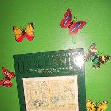 Libros de segunda mano: DE HISTORIA ET VERITATE UNICORNIS DE LA HISTORIA Y LA VERDAD DEL UNICORNIO - FACSIMIL DE MANUSCRITO. Lote 221712570