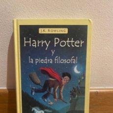 Libros de segunda mano: HARRY POTTER Y LA PIEDRA FILOSOFAL J. K. ROWLING. Lote 221732117