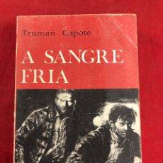Livres d'occasion: A SANGRE FRÍA. Lote 221760362