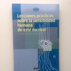 Libros de segunda mano: LECCIONES PRÁCTICAS SOBRE LA SENSIBILIDAD.... Lote 221808221