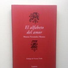 Libros de segunda mano: EL ALFABETO DEL AMOR. Lote 221809171