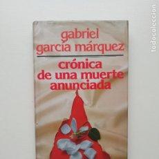 Libros de segunda mano: CRÓNICA DE UNA MUERTE ANUNCIADA. Lote 221813566
