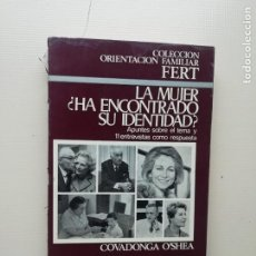 Libros de segunda mano: LA MUJER HA ENCONTRADO SU IDENTIDAD. Lote 221813927