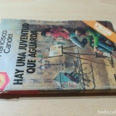 Libros de segunda mano: HAY UNA JUVENTUD QUE AGUARDA - FRANCISCO CANDEL - PLAZA JANES W+106. Lote 221814413