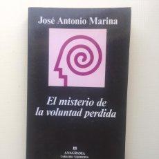 Libros de segunda mano: EL MISTERIO DE LA VOLUNTAD PERDIDA. Lote 221818186