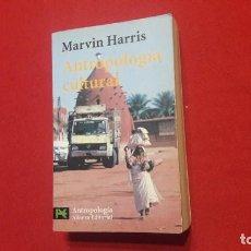 Libros de segunda mano: ANTROPOLOGIA CULTURAL. MARVIN HARRIS.. Lote 221826793