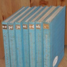Libros de segunda mano: DICCIONARIO INFANTIL ILUSTRADO Y MI PEQUEÑA ENCICLOPEDIA 7T DE ED. PLAZA JANÉS EN BARCELONA 1965. Lote 221832360