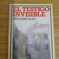 Libros de segunda mano: EL TESTIGO INVISIBLE (WOLFGANG ECKE) ALTEA JUNIOR ENIGMAS Nº 17. Lote 221848291