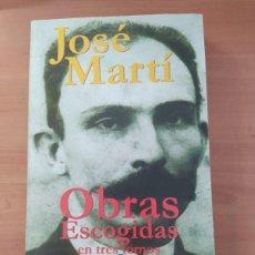 Libros de segunda mano: OBRAS ESCOGIDAS EN TRES TOMOS II. Lote 221851857
