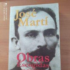 Libros de segunda mano: OBRAS ESCOGIDAS EN TRES TOMOS I. Lote 221851925