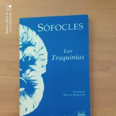 Libros de segunda mano: LAS TRAQUINIAS. Lote 221852000