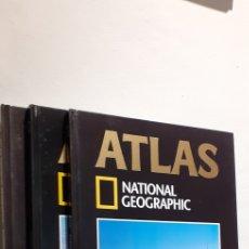 Libros de segunda mano: ATLAS NACIONAL GEOGRAFICA EUROPA. Lote 221887983