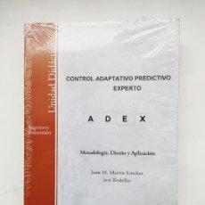 Libros de segunda mano: CONTROL ADAPTATIVO PREDICTIVO EXPERTO. METODOLOGIA DISEÑO APLICACION. JUAN M. MARTIN. UNED TDK552. Lote 221890618