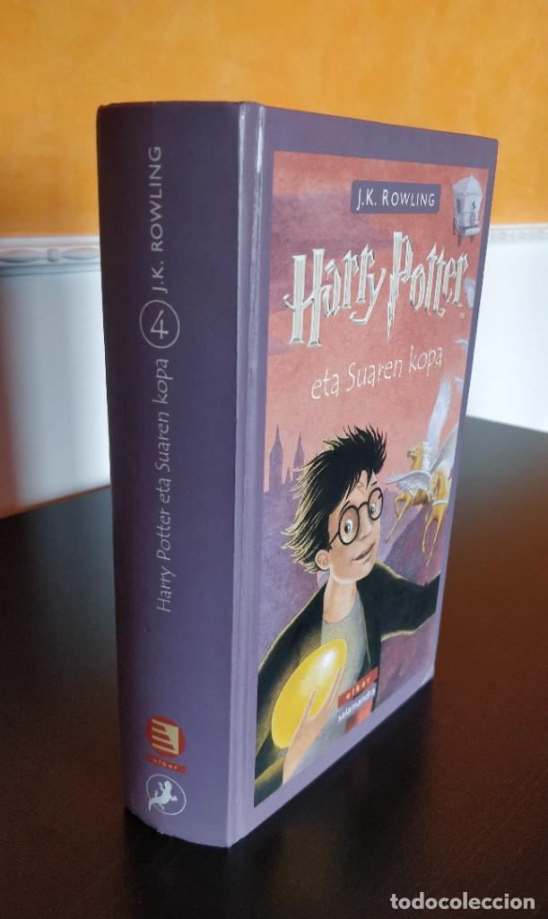 *PRIMERA EDICION* HARRY POTTER ETA SUAREN KOPA CALIZ FUEGO ELKAR SALAMANDRA 2002 (Libros de Segunda Mano - Literatura Infantil y Juvenil - Otros)