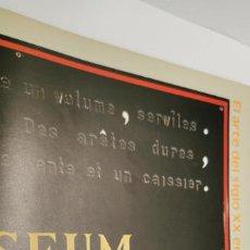 Libros de segunda mano: EN VENTA DIRECTA EL ARTE DEL SIGLO XX EN UN MUSEO HOLANDES, EINDHOVEN. FUNDACION JUAN MARCH, MADRID.. Lote 221922662