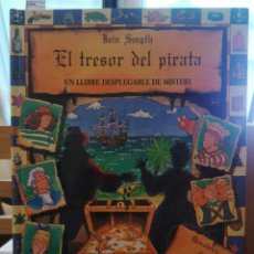 Libros de segunda mano: [POP UP] EL TRESOR PIRATA. UN LLIBRE DESPLEGABLE DE MISTERI. IAIN SMYTH.MONTENA.1997. Lote 221938583