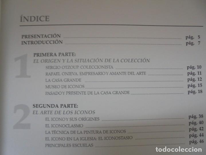 Libros de segunda mano: EL MUSEO DE ICONOS DE LA CASA GRANDE. OSCAR GARCIA GARCIA. 2005. NEITAGRAF IMPRESORES - Foto 10 - 221952468