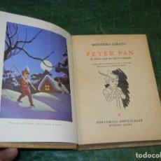 Libros de segunda mano: MONTEIRO LOBATO - PETER PAN - ED.AMERICALEE 1945. Lote 221954322