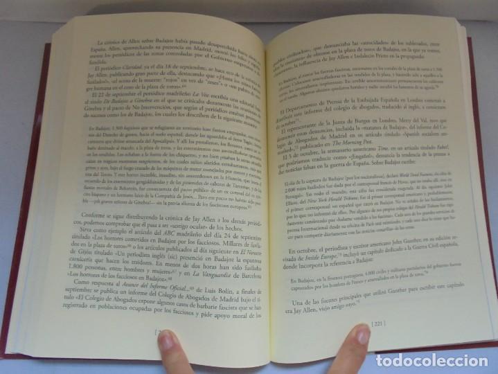 Libros de segunda mano: LA MATANZA DE BADAJOZ ANTE LOS MUROS DE LA PROPAGANDA. FRANCISCO PILO. MOISES DOMINGUEZ. 2010 - Foto 14 - 221958478